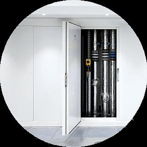 Riser door systems