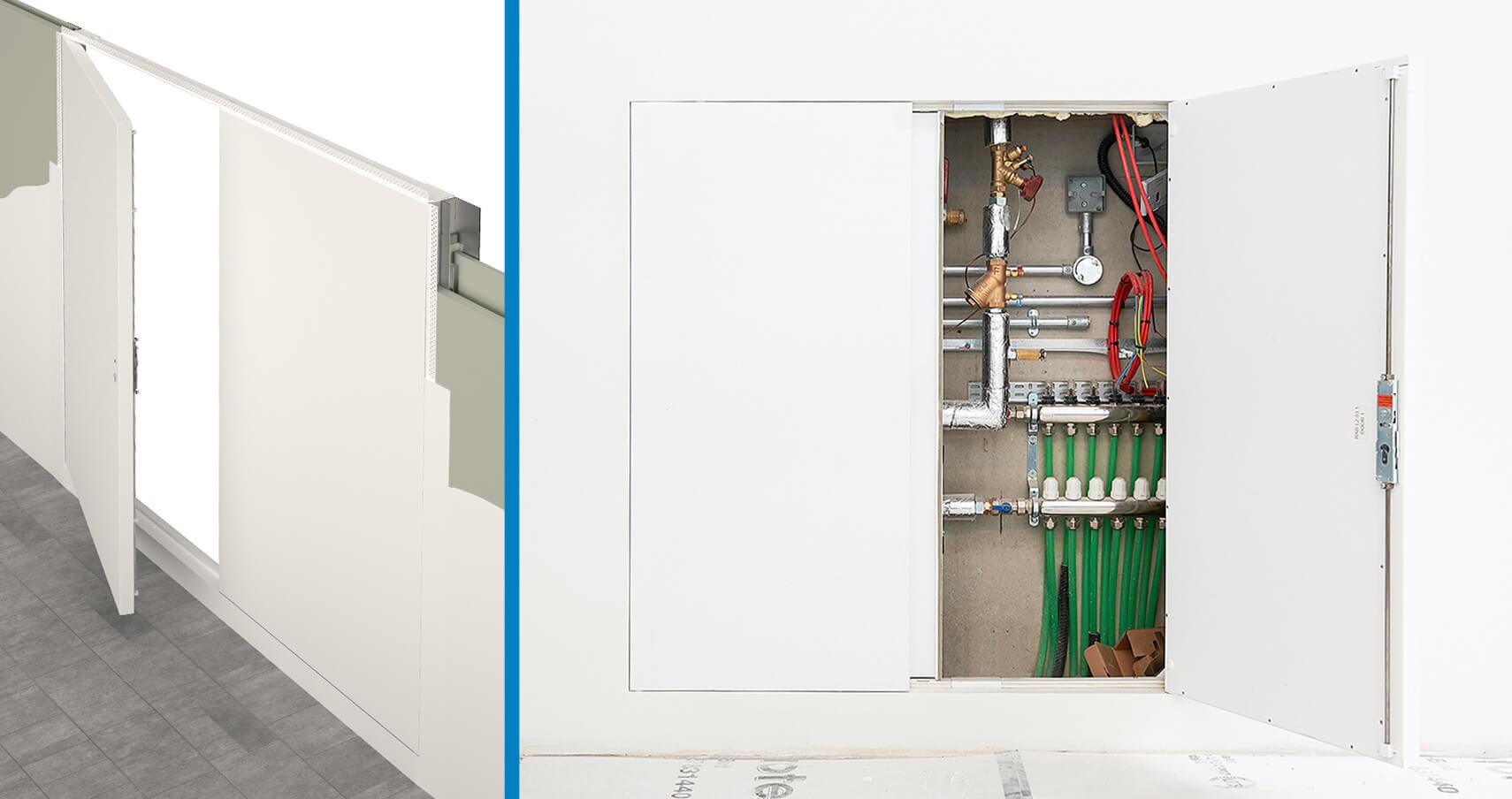Quadra Riser Door System Technical Specifications