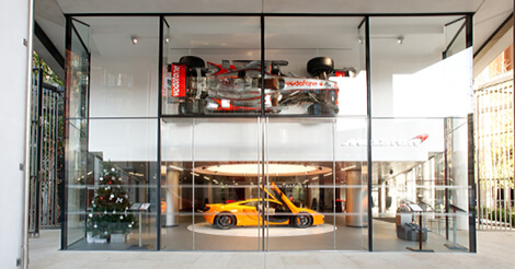 McLaren Showroom, Knightsbridge, London