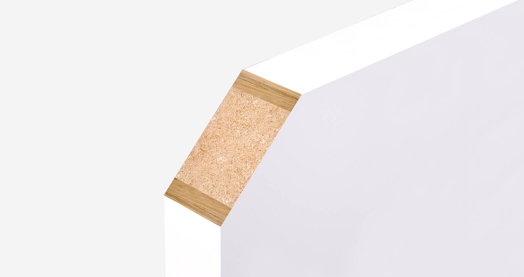 High-density solid timber core