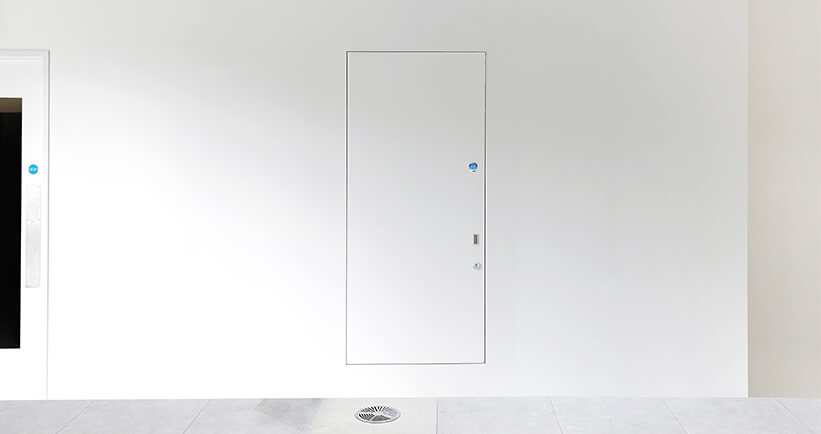Una Doorset Technical Specifications Concealed Riser