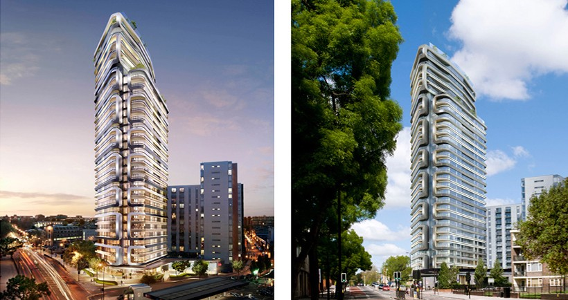The ripple effect of the Canaletto Tower - read more