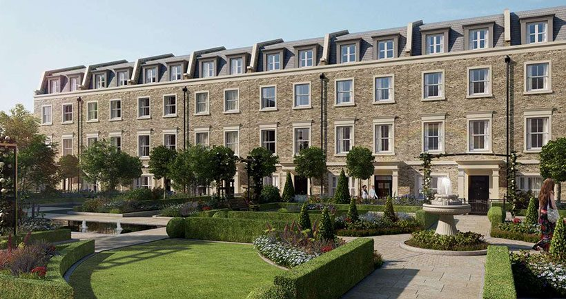 Pared-down elegance for Chiswick Gate - read more