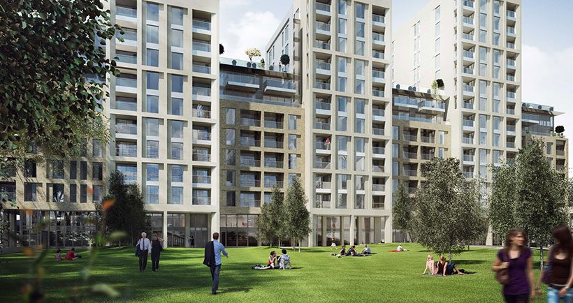 Luxe style at Paddington Basin - read more