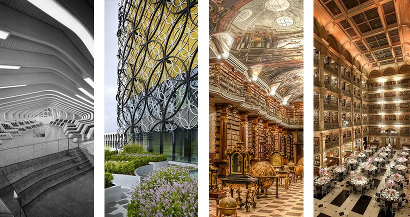4 of the world's most beautiful libraries - read more