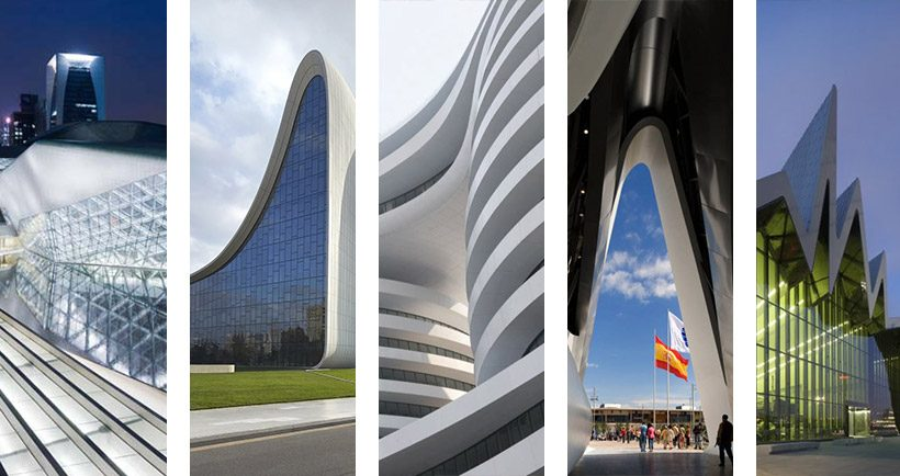 Top 5 most beautiful Zaha Hadid buildings - read more