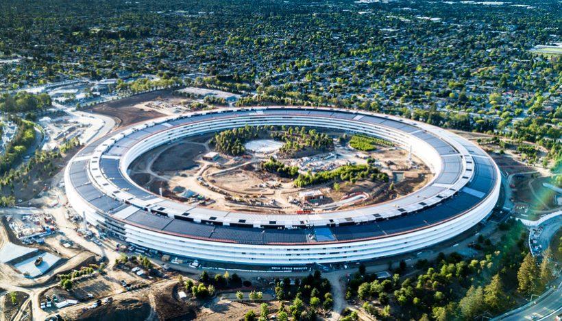 Apple's New 'Spaceship' Campus - read more