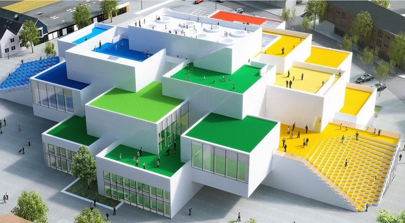 A Look Inside BIG's Stunning LEGO House in Denmark - read more