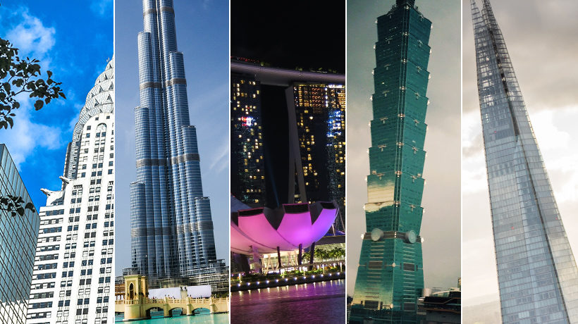 Five of Our Favourite Tall Buildings - read more