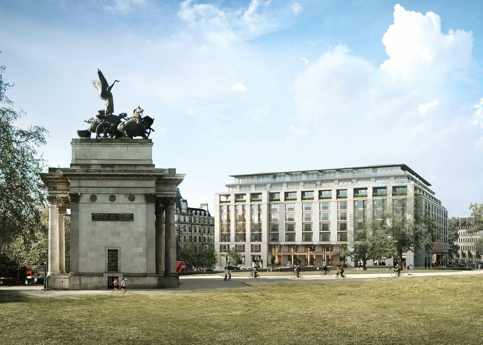 1-5 Grosvenor Place, London City Hall